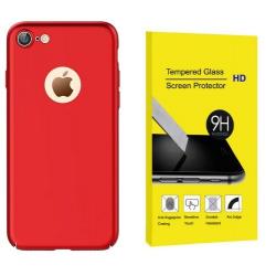 ETUI OBUDOWA PREMIUM JOYROOM 0.6mm IPHONE 7 +SZKŁO